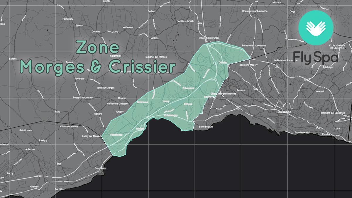 Zone Morges & Crissier