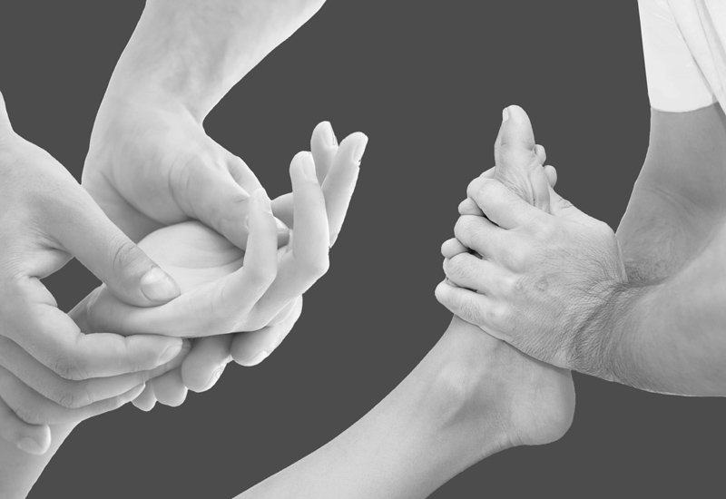 Massage pieds & mains
